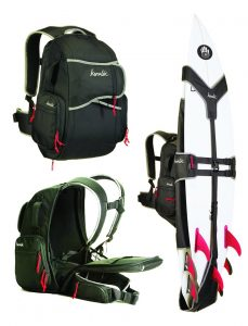 surfboard carrying backpack