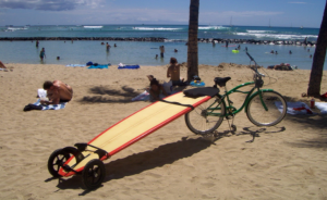 mule sup surfboard carrier