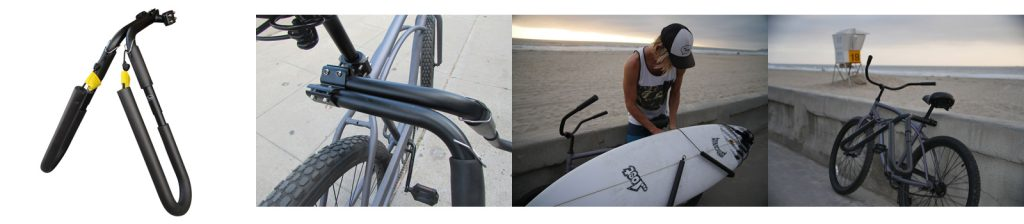 most used surfboard rack for bicycle