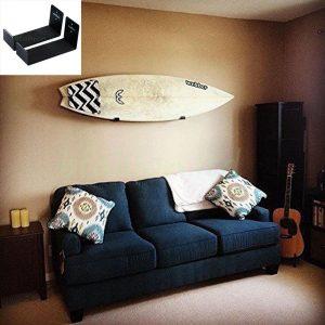 surfboard on a wall