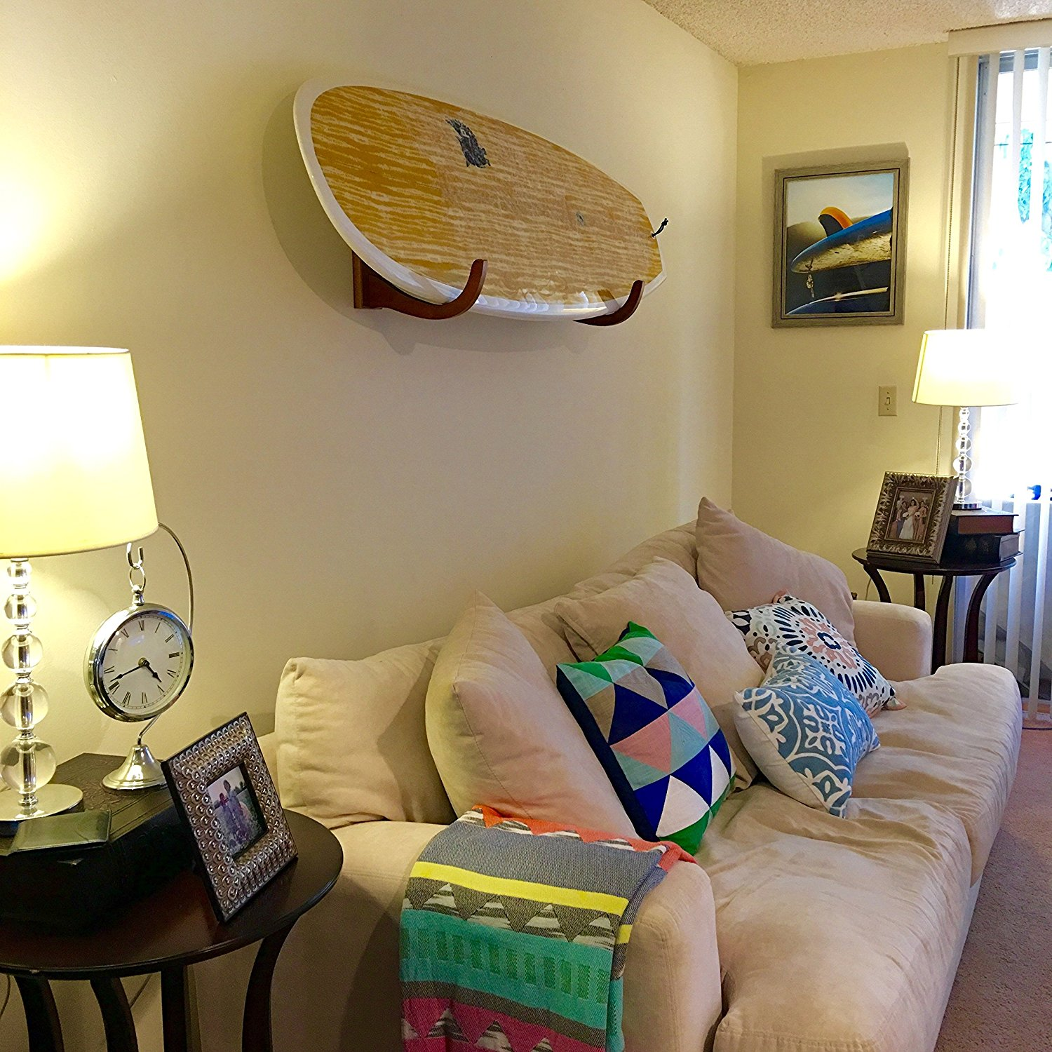 rack wall surfboard pin pinterest happy wood home compact