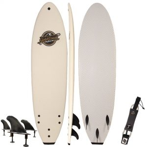 soft top whole surfboard combination