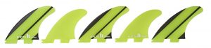 five surfboard fins