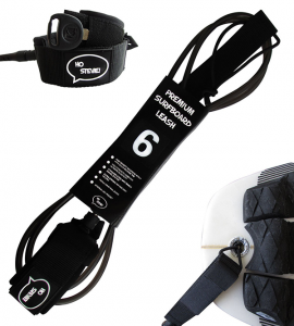 strong shortboard leash for surfboard