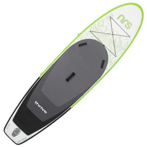 stand up paddleboard half vertically