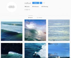 nulltuul instagram homepage