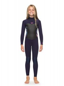 roxy syncro girls surf wetsuit