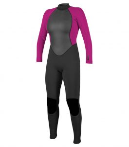 o'neill reactor 2 womens 3/2 surf wetsuit