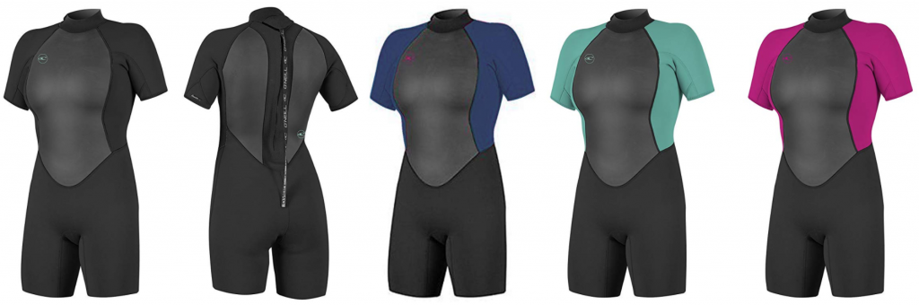 reactor 2 womens shorty wetsuits