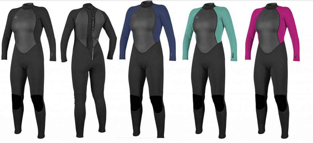 value wetsuits section