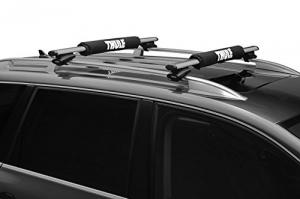 thule aero rack bars on cars roof