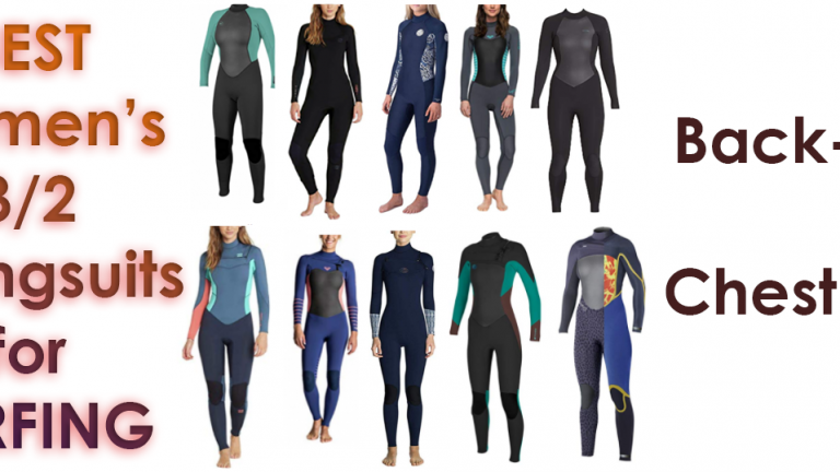 Best Women's 3/2 Surf Wetsuits