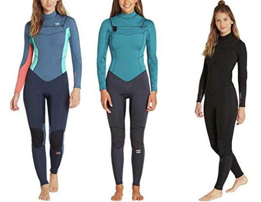 billabong furnace womens surf wetsuits