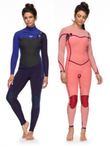 roxy womens surfing wetsuit inside out