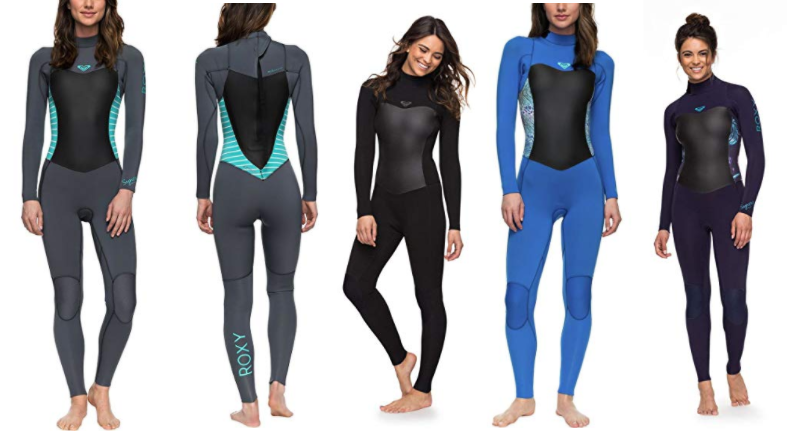 roxy syncro womens surf wetsuits