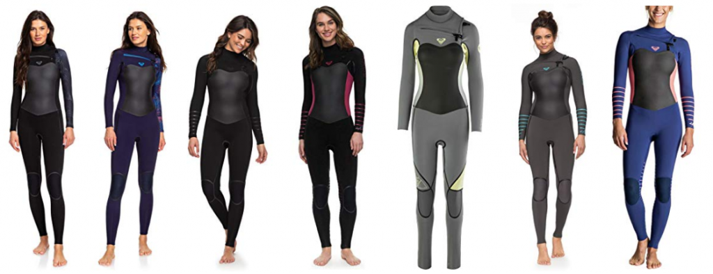 roxy womens surf wetsuits