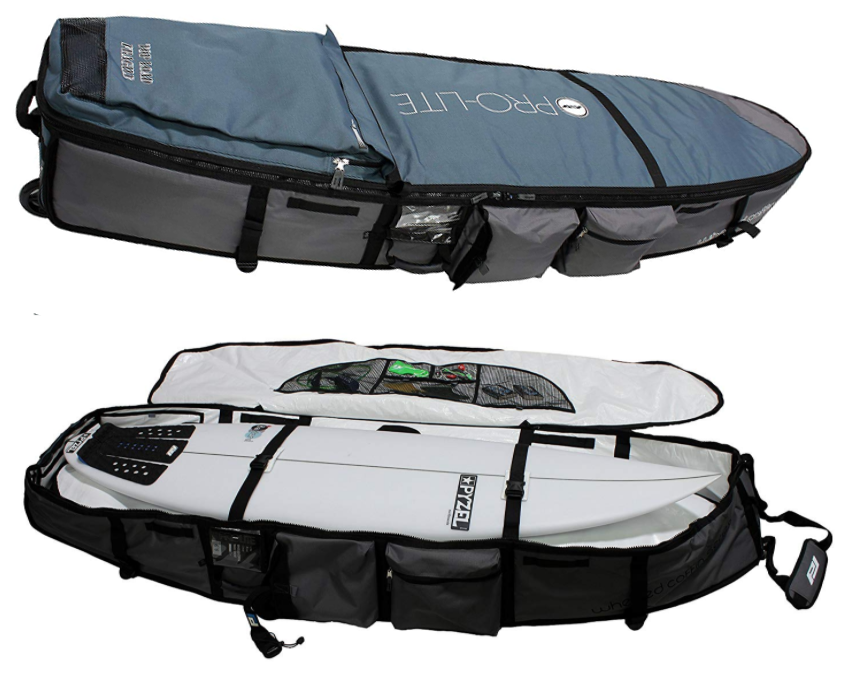 huge surfboard travel bag with wheels