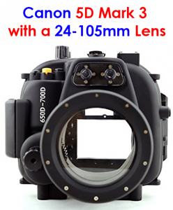 dome port for canon 5d mark 3 camera