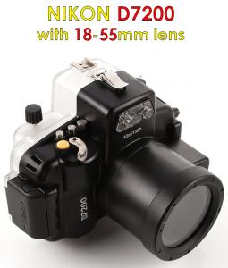 nikon d7200 camera waterproof housing