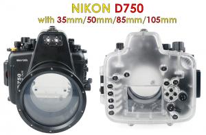 waterproof camera housing for nikon d750