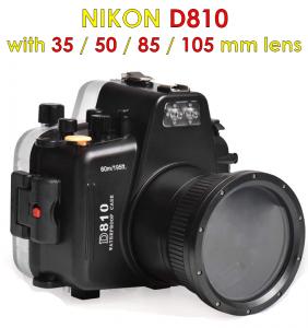 nikon d810 camera waterproof housing