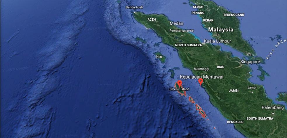 kuda laut surf locations