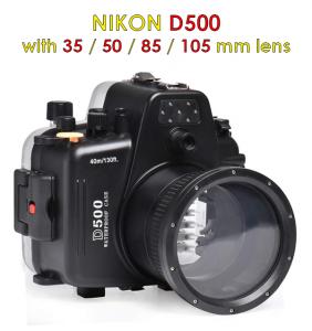 nikon d500 camera waterproof housing, a cheap one