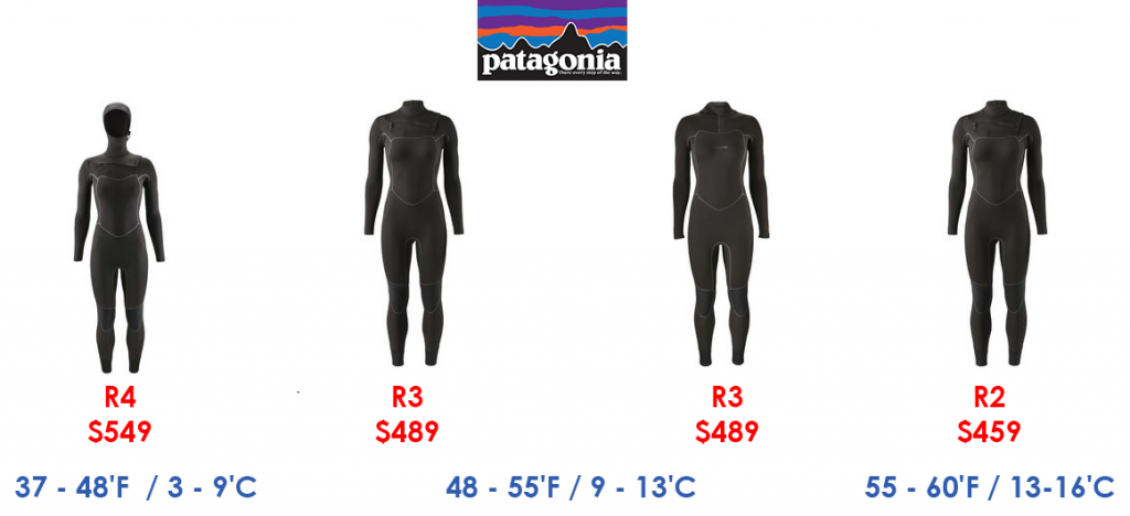 patagonia womens surf wetsuits