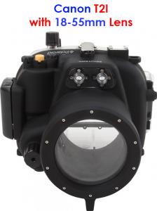 canon waterproof camera housing