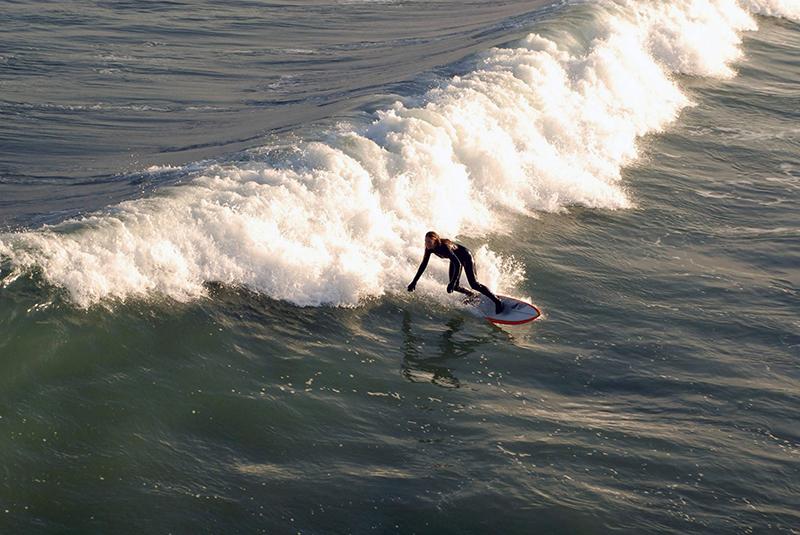 wahine - a female surfer