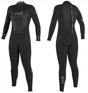 o'neill epic womens surf wetsuit