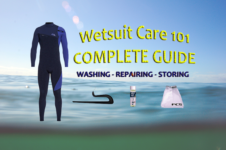 Wetsuit Care 101 Complete Guide | Wash, Store, Repair