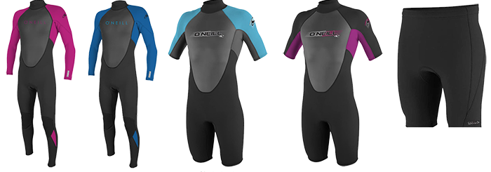 o'neill reactor 2 youths wetsuit models