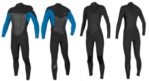 o'neill epic wetsuit models