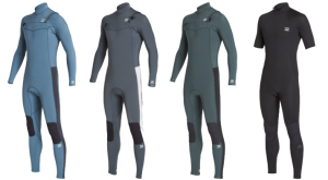 billabong furnace revolution wetsuit models
