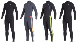 billabong furnace revolution pro wetsuit types