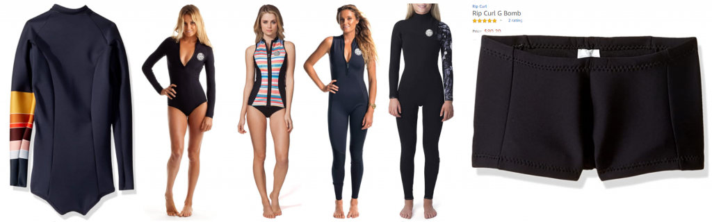 rip curl g bomb womens wetsuits