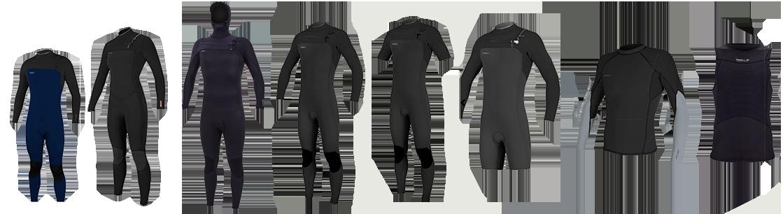 o'neill hyperfreak wetsuits