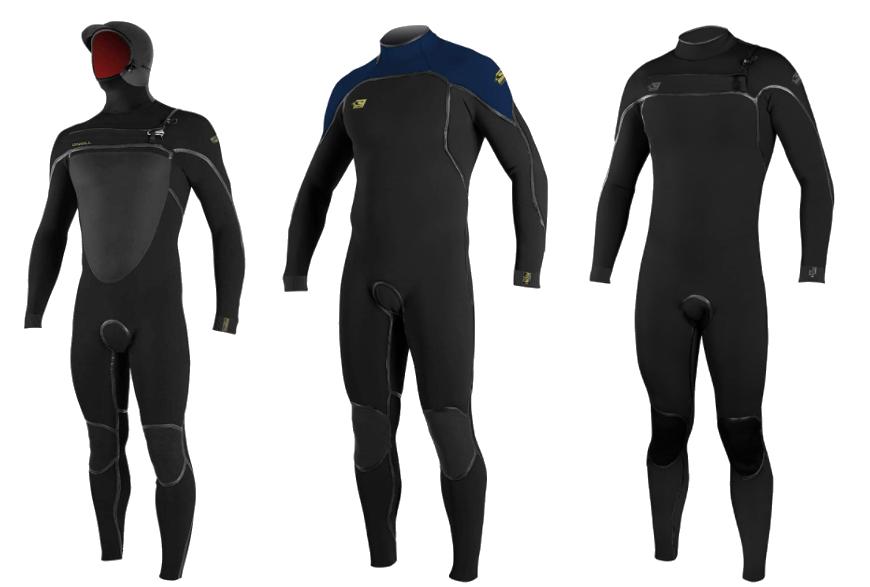 o'neill psycho wetsuit models
