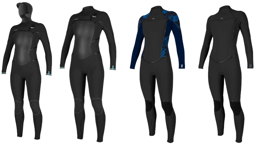 o'neill womens psycho wetsuit models