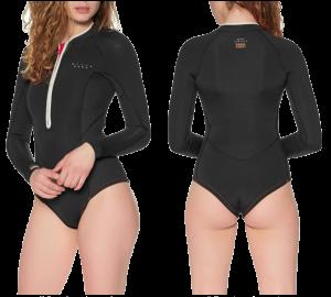 billabong salty dayz eco front zip wetsuit