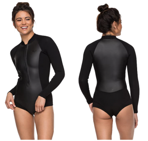 roxy satin womens long sleeve wetsuit