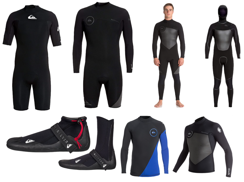 quiksilver mens syncro wetsuits range
