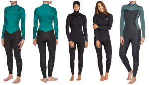 billabong synergy womens wetsuits