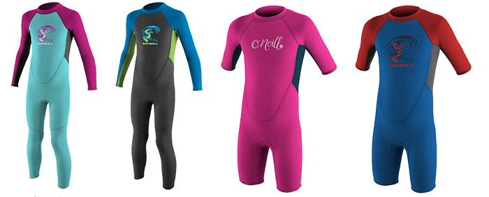 o'neill youths reactor 2 wetsuit models