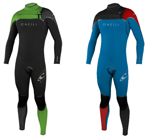 o'neill psycho youths wetsuit models