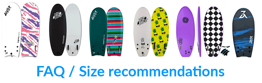 6 different beater boards