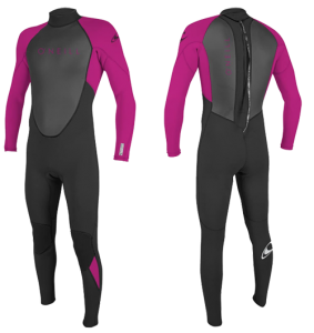 o'neill reactor youths surf wetsuit